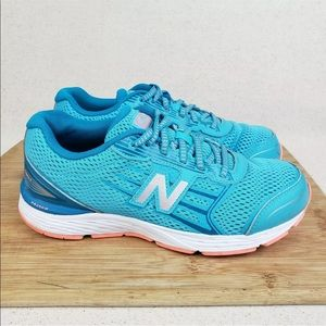 New Balance TechRide Teal Coral Running Sneakers